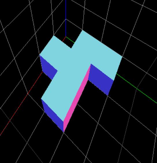 3D puzzle cube piece
