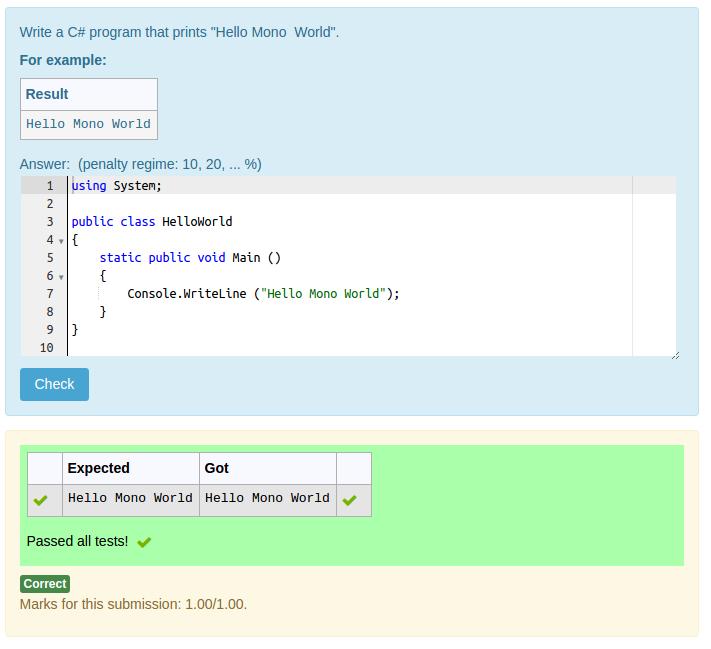A C# write-a-program question
