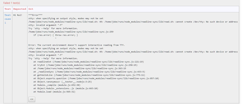 readline-sync error